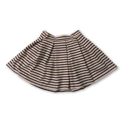 134-es fehér-kék csíkos szoknya - H&M