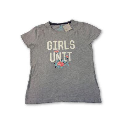 122-es szürke feliratos lány póló - Pepperts