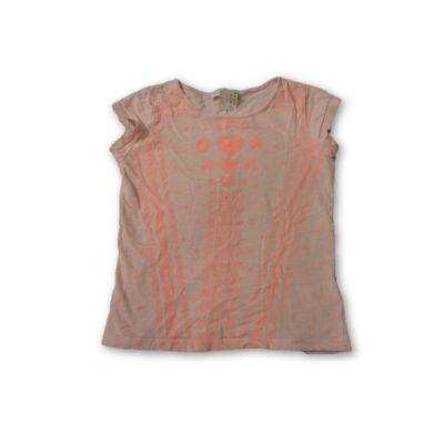 128-as rózsaszín mintás póló - Vögele