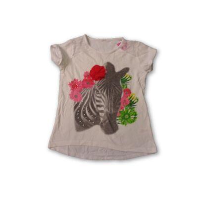116-os fehér zebrás póló - TU