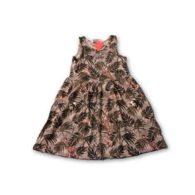 110-es szürke állatos ruha - H&M