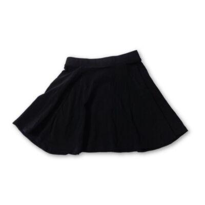 146-152-es fekete pamut alkalmi, ünneplő szoknya - H&M