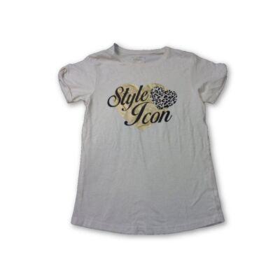 158-as drapp lány póló arany mintával - Young Dimension