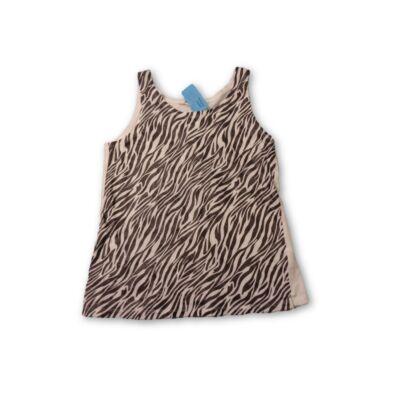 146-152-es zebramintás póló - H&M