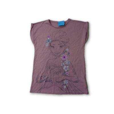 152-es rózsaszín Hercegnős póló - Disney, Frozen, Jégvarázs