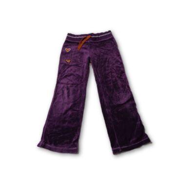 116-os lila plüss hímzett nadrág - Marks & Spencer