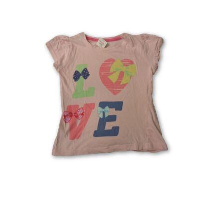 122-es rózsaszín LOVE feliratúpóló - Pepco