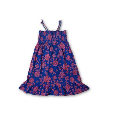 116-os kék virágos ruha - Oskosh