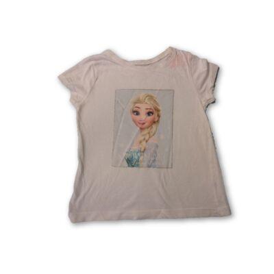 98-as fehér póló - Frozen, Jégvarázs