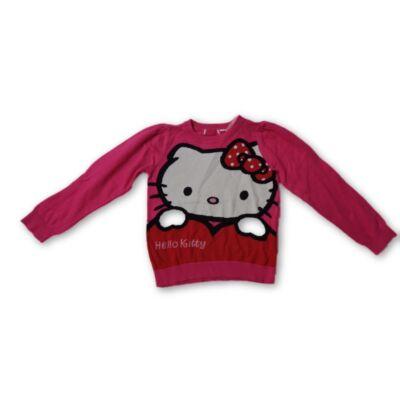 122-es pink kötött pulóver - Hello Kitty