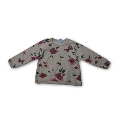 128-as szürke virágos pulóver - Zara