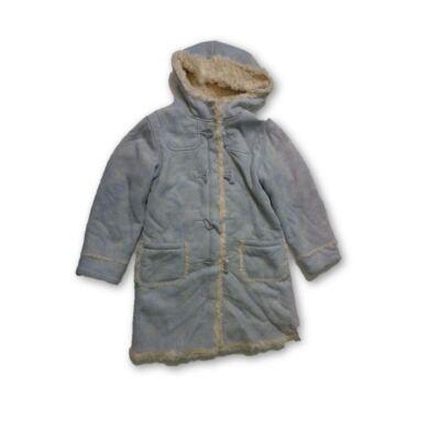 140-es kék velúrkabát szőrmével bélelve - Next