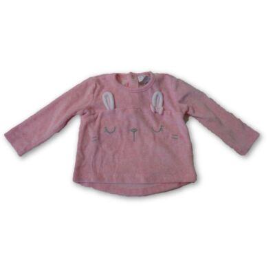 68-as rózsaszín plüss pulóver - F&F