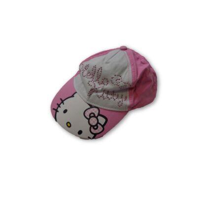 48-52 cm-es fejre rózsaszín baseball sapka - Hello Kitty
