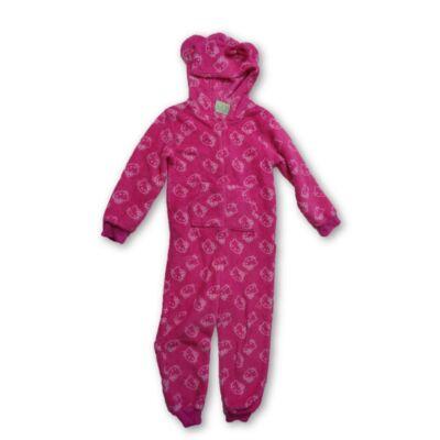 116-os szőrmés kezeslábas pizsama, háziruha - Hello Kitty