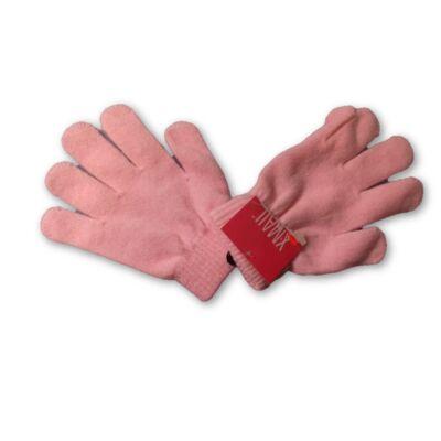 7-8 évesre rózsaszín kötött kesztyű - X-Mail - ÚJ