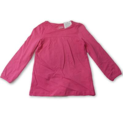 116-os pink pamutfelső - Kiki & Koko - ÚJ