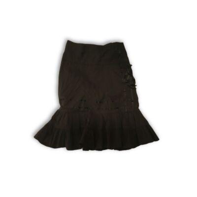 152-158-as fekete harang aljú szoknya