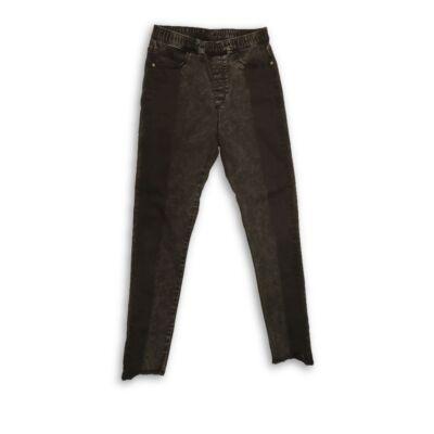 164-es szürkés-fekete farmernadrág - H&M