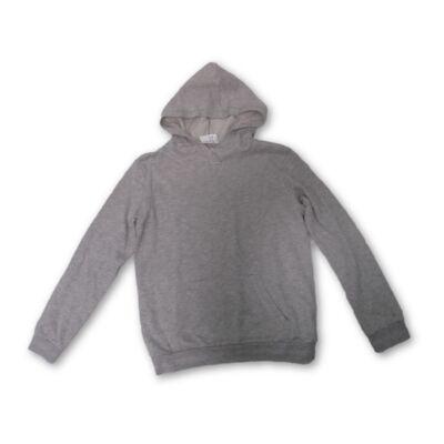 134-140-es ezüstösen csillogó szürke lány pulóver - H&M