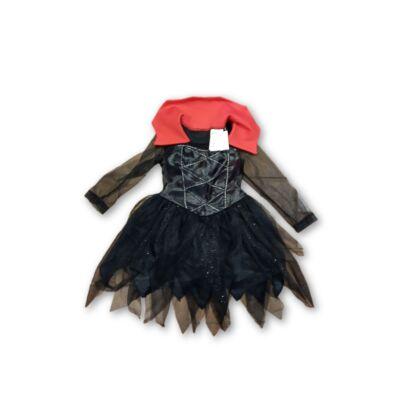 98-104-es fekete csillogó jelmezruha - H&M