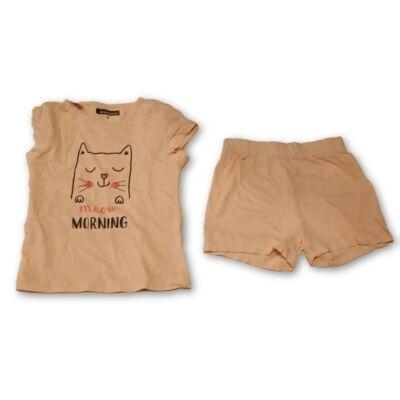 116-os rózsaszín cicás nyári pizsama - In Extenso