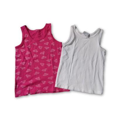 104-es lányka trikók, 2 db egyben