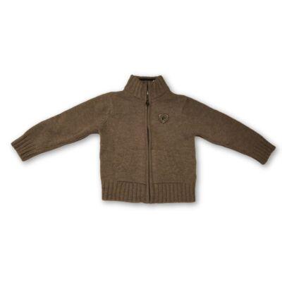 98-104-es barna kötött kardigán - Okaidi - felicity.hu használt ruha ... 71103ea277