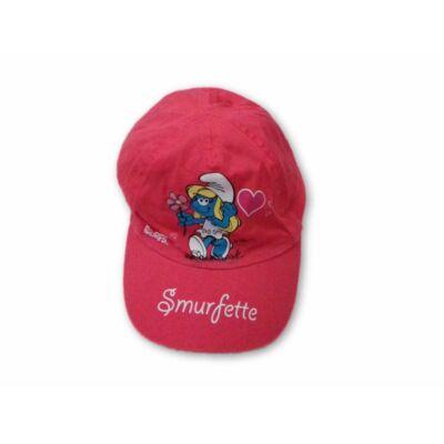 50-52 cm-es fejre pink baseball sapka - Törpilla, Hupikék Törpikék