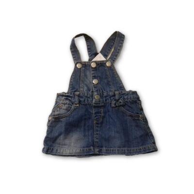 92-es kantáros farmerruha - Zara