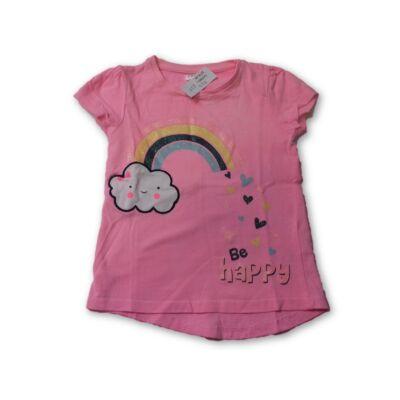 92-es rózsaszín szivárványos póló - Pepco