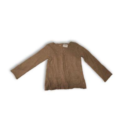 128-as barna csillogó kardigán - Okaidi