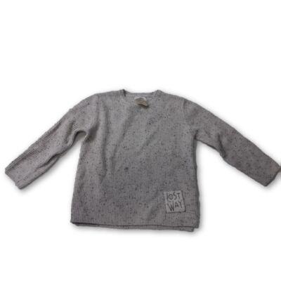 134-es törtfehér kötött pulóver - Zara