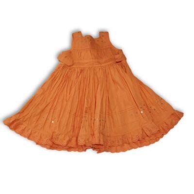 98-as narancssárga vászon ruha - Marks & Spencer