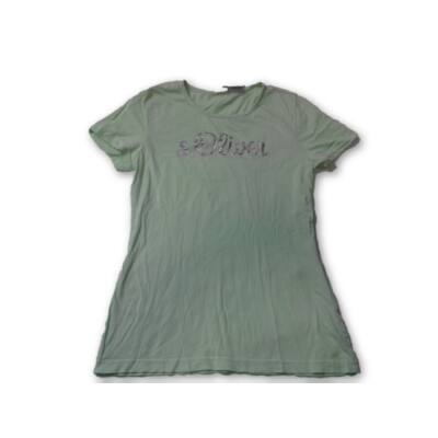 152-es zöld feliratos póló - S.Oliver