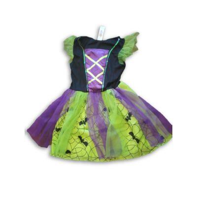 3-5 évesre zöld-lila denevéres jelmezruha - F&F - ÚJ