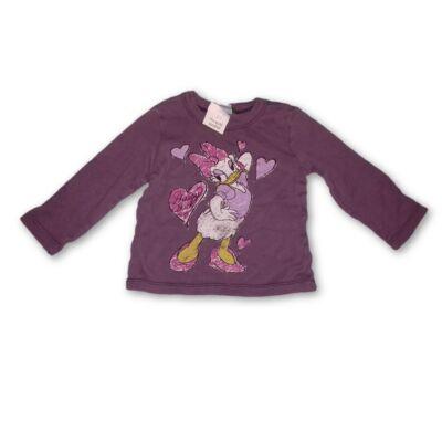 68-as lila pamutfelső - Daisy