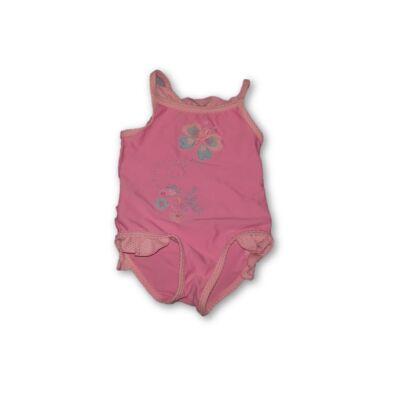 62-68-as rózsaszín pillangós fürdőruha - St. Bernard