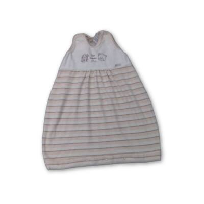 60 cm hosszú drapp csíkos hálózsák - Brendon