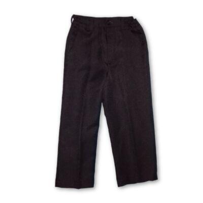 110-es fekete alkalmi, ünneplő nadrág