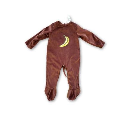 86-92-es barna plüss majom rugi, jelmeznek is jó