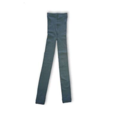 122-128-as középszürke thermo bélelt leggings - Ergee - ÚJ