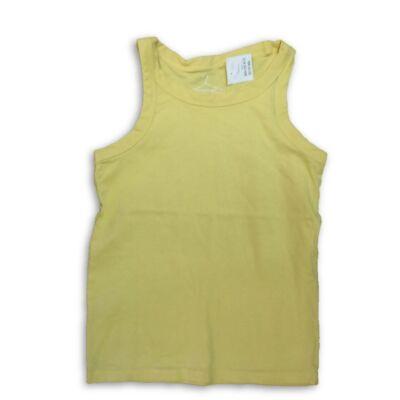122-es sárga ujjatlan lány póló - Next