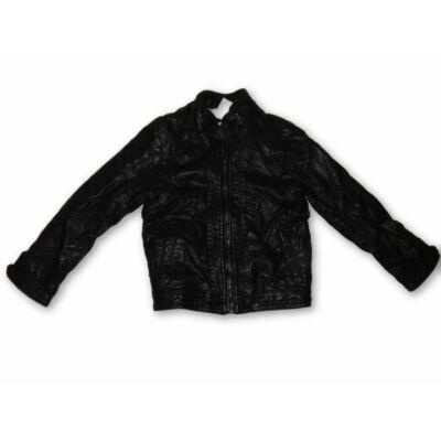 110-es fekete bőr hatású kabát - Zara
