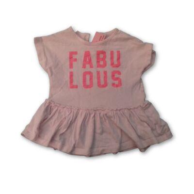 92-es rózsaszín feliratos póló - F&F