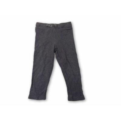 92-es szürke bordás leggings - F&F