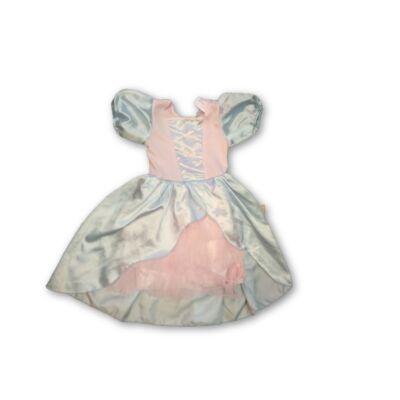 116-os kék-rózsaszín jelmezruha, hercegnőruha