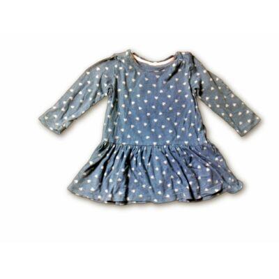 86-os kék szivecskés ruha