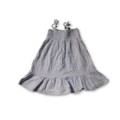 98-as kék-fehér csíkos nyári ruha - H&M