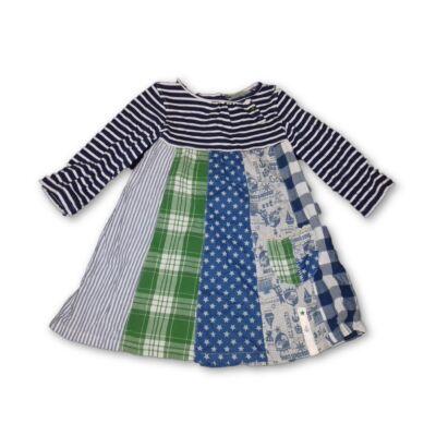 110-es mintás-csíkos ruha - Next